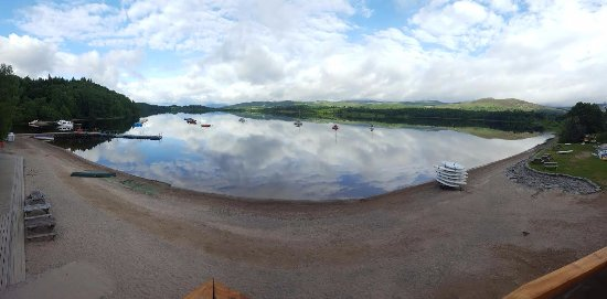 Kincraig, UK : This our very own beach. Great place for all water sports - with a view!