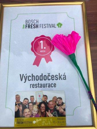 Pardubice, Czech Republic: 1. místo na Bosch fresh festivalu 2017