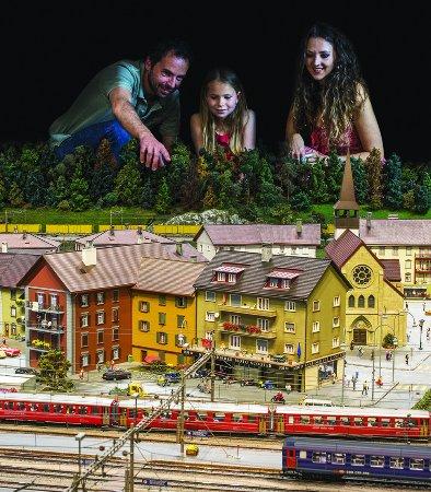 Granges-Paccot, Switzerland: Les familles sont ravies au Kaeserberg