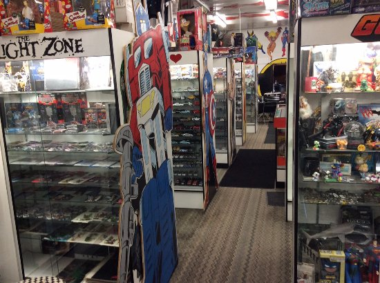 Big Lou's Toys & Collectilbes: big lous store inside
