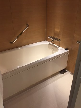 Separate bath tub & shower next to it - Picture of JR Kyushu Hotel ...