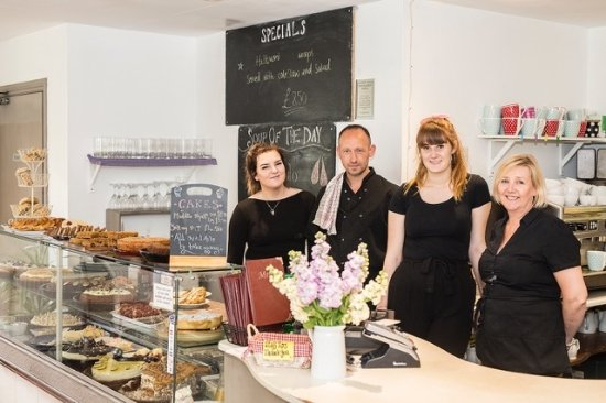 Breage, UK: Cafe staff