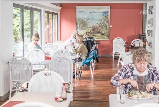 Breage, UK: Inside the Garden Kitchen Cafe