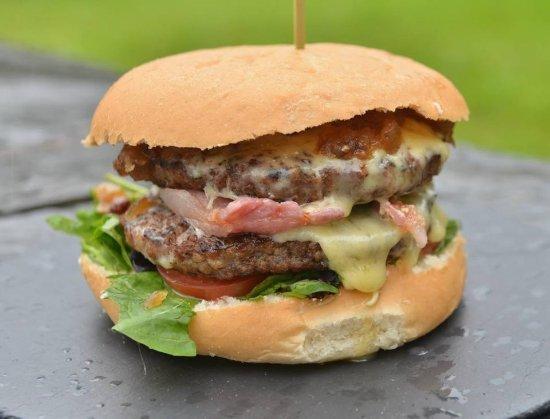 The Quarry Centre: Our Quarry BIG burger!!