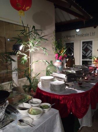 Grande Riviere Noire: Magnifique décoration asiatique au Frenchie