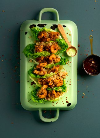 Slim's Kitchen: Prawn Tacos