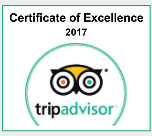 Shiva Guest House1 & 2: Certificate of excellence 2017
