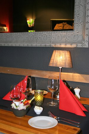 Nivelles, Belgium: table gourmande