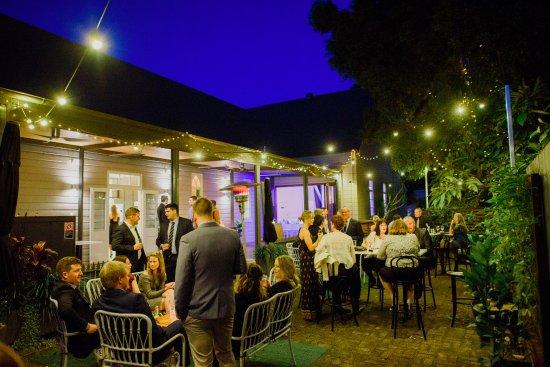 Bellingen, Australien: Our outdoor terrace