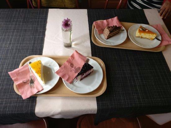 Savonlinna, Finland: Delicious Cakes!!