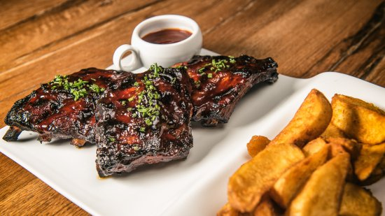 Wormeldange, Luxembourg: Spare Ribs