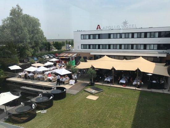 Vinkeveen, Países Bajos: Buiten aanzicht en lekker eten