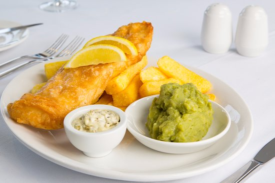 Wotter, UK: Sometimes only fish and chips will do