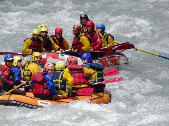 Adventure Center Rafting: Rafting sulla Dora Baltea