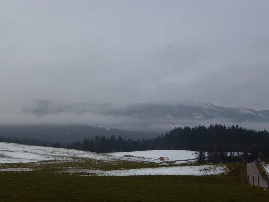 Steingaden, Deutschland: А вокруг - альпийские предгорья....