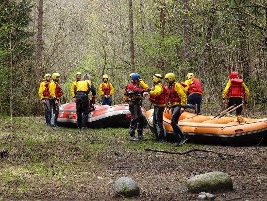 Ла-Салле, Италия: Rafting sulla Dora Baltea