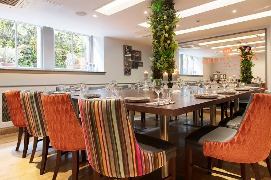 Bellavista private dining room for up to 18 guests - Picture of ...