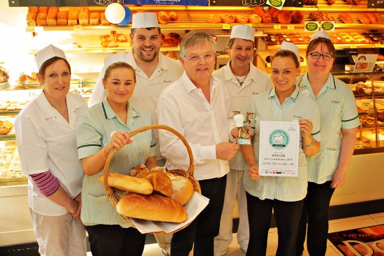 Ballycastle, UK: Best Bakery Award Ni (2015 ) and some of the team