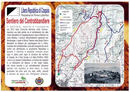 San Giustino, Italia: Sentiero del Contrabbandiere