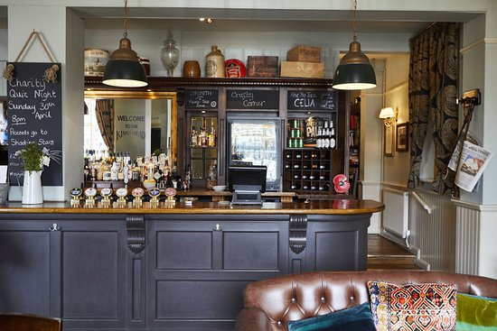 Wickham, UK: The King's Head - quench your thirst with something from our great range of ales, wines and spir