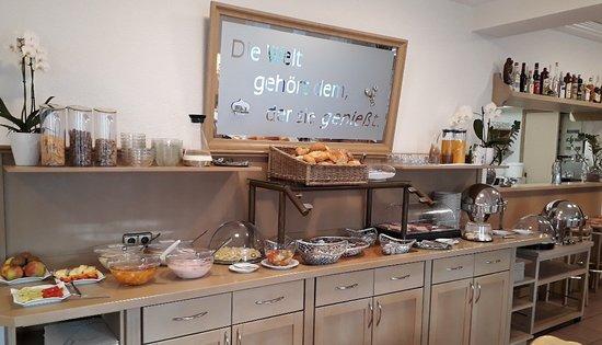Hengersberg, Allemagne : Frühstücksbuffet