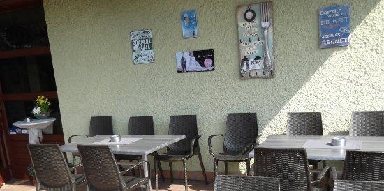 Hengersberg, Allemagne : Terrasse