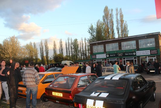 Wisbech, UK: Classic Ford Car Night second Monday of the Month starts 6.15pm. Every year April till October