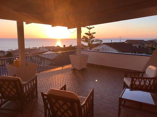 Cittadella del Capo, Itália: Terrazza della mia camera