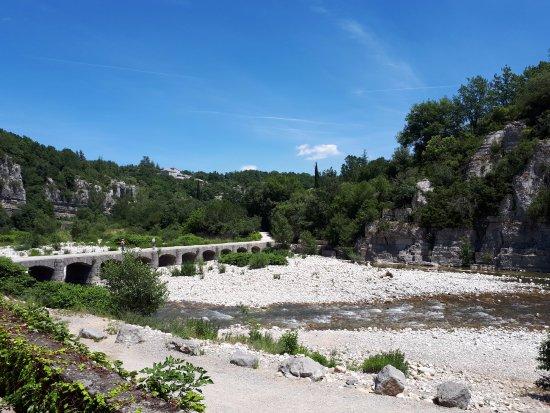 Sampzon, Frankreich: pont de Labeaume
