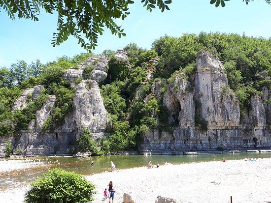 Sampzon, Frankreich: baignade à Labeaume