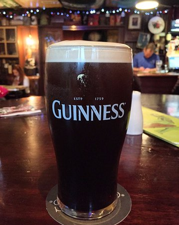 Omagh, UK: Pint of Guinness