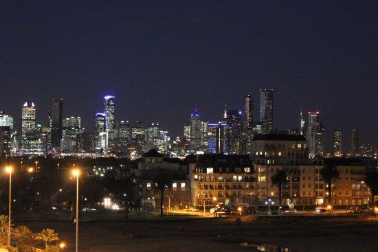 Devonport, Australien: View from upper deck of Melbourne city