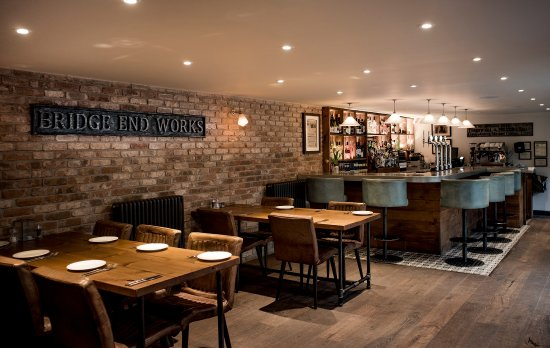 Tideswell, UK: The Merchant's Yard downstairs dining