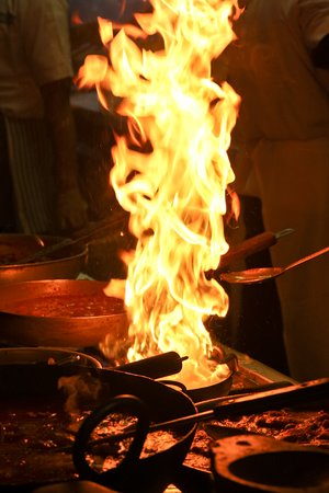 Southall, UK: All our dishes are cooked in our live kitchen.