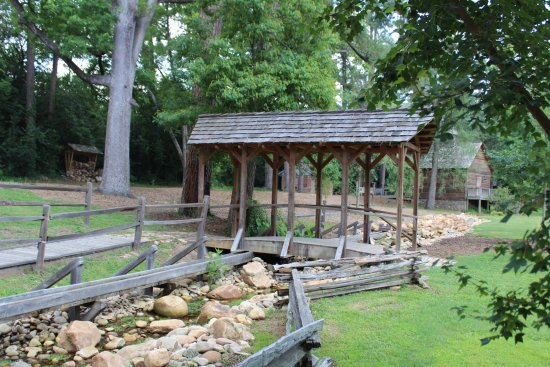 Living History Park: covered bridge