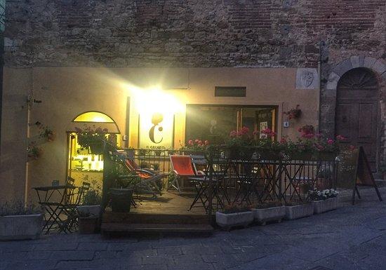Campiglia Marittima, Italy: Per una serata tranquilla