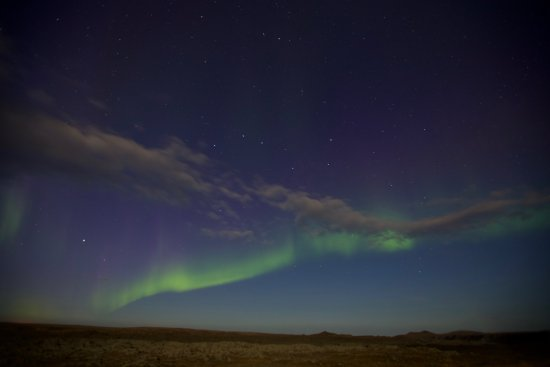 North Iceland, Iceland: Northern Lights- beautiful!