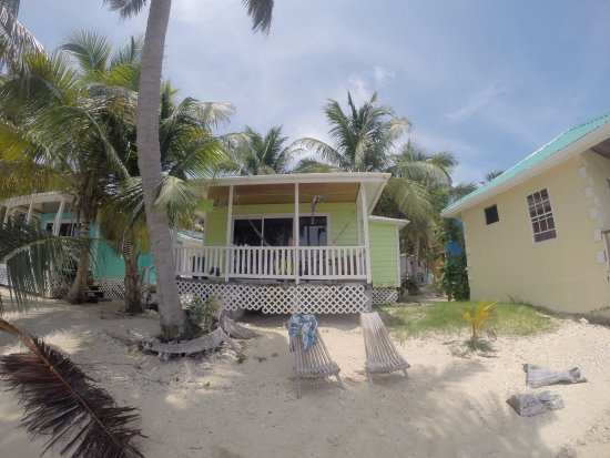 Tobacco Caye, Belize: Our cabana for a few nights