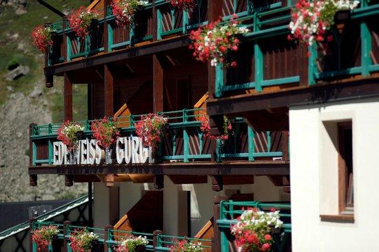Hotel Edelweiss & Gurgl: Ansicht Südseite