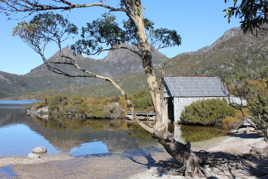 Cradle Mountain-Lake St. Clair National Park, Australia: Hut still the same after 30 years from original trip here