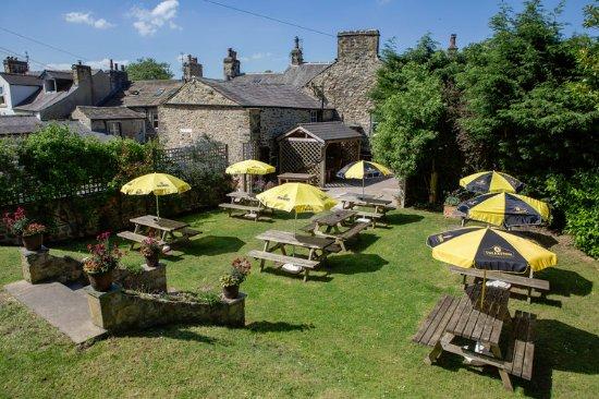 Settle, UK: Fantastic beer garden