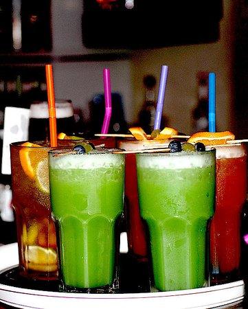 Haren, Deutschland: Petite Cocktails, Green Snaka, Long Island, Sex on the beach