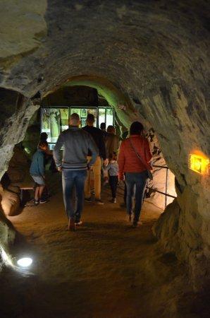 Saint-Sulpice-la-Pointe, Prancis: Visites guidées du souterrain médiéval