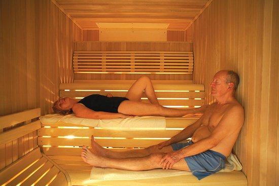 Sauna at Richmond Painswick Wellness Spa