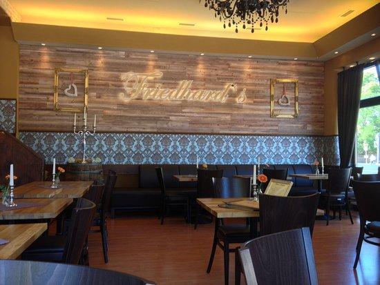 Friedhard´s Lichterfelde: Restaurant innen