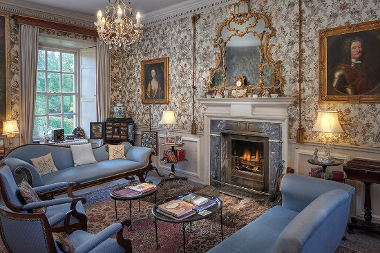 Innerleithen, UK: Lower Drawing Room