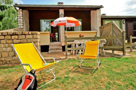 Marvejols, Fransa: Terrasse du logement