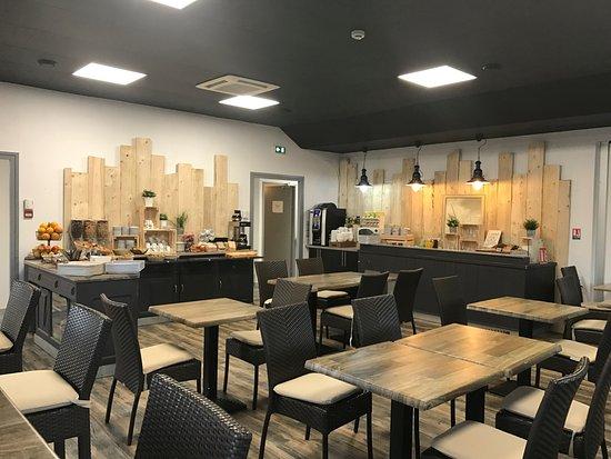 Castelculier, Prancis: Salle Petit-Déjeuner (Rénovation en 2017)