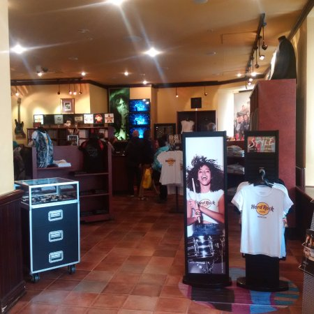 Hard Rock Cafe : Shop
