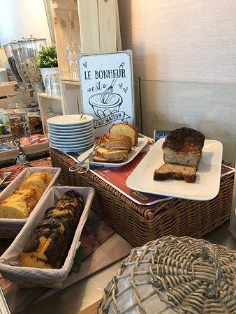 Castelculier, Prancis: Gourmandises du Petit-Déjeuner